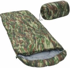 VidaXL Slaapzak 10 1000 g camouflage