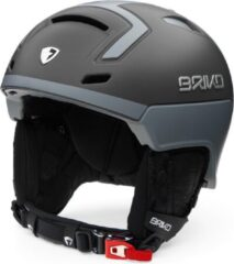 Grijze Briko Stromboli Ski helmet SMOKE CLOUD GREY - Maat M/L