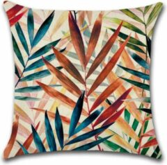 Blauwe By Javy Kussenhoes Jungle - Bagheera - Kussenhoes - 45x45 cm - Sierkussen - Polyester