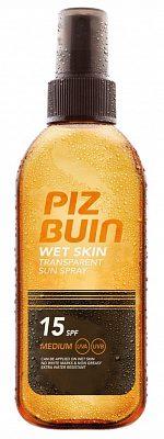 Afbeelding van BestPriceAlarm Piz Buin Wet Skin Transparent Sun Spray SPF15 150 ml