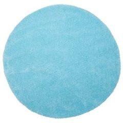 Blauwe Beliani Demre Vloerkleed Polyester 140 X 140 Cm