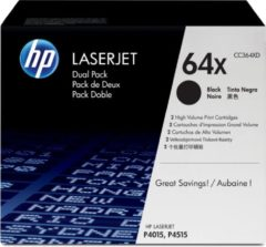 HP 64X - Tonercartridge / Zwart / Hoge Capaciteit