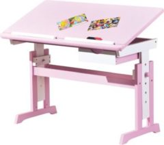Ilsas Link&acutes Schreibtisch Cecilia weiss/pink