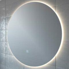 Adema Circle badkamerspiegel rond diameter 120cm met indirecte LED verlichting met spiegelverwarming en touch schakelaar JG1112-1200