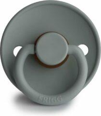 Grijze FRIGG Fopspeen maat 1 - 0-6 maanden - French Gray - Natuurrubber