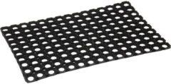 Zwarte Bellson Deurmat Rubberring 40 X 60 cm