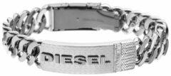 Zilveren Diesel Mannen Armband DX0326040