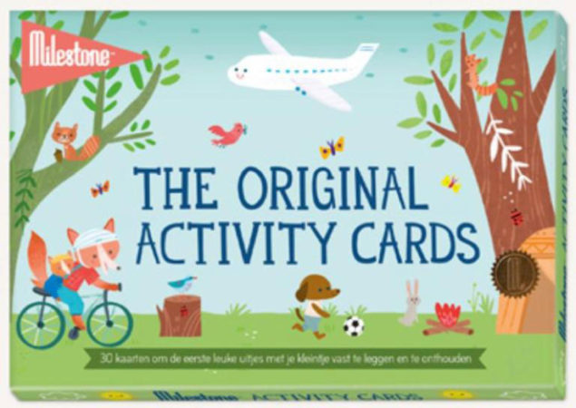 Afbeelding van Milestone Cards Milestone™ Baby Photo Cards - Original Activity