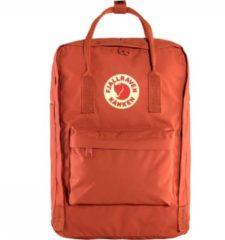 Rode Fjällräven Fjallraven Kanken Laptoprugzak 15 inch - Rowan Red
