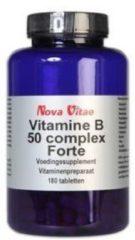Nova Vitae Vitamine B50 Complex - 60 Tabletten - Vitaminen