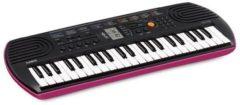 Zwarte Emp Casio Casio SA-78 Keyboard Pink Casing Base 44 Mini Toetsen