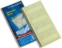 Blauwe Atlanta by Jalema terugbelboeken 160 notities, zelfkopi?rend, Franstalig