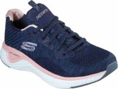 Skechers Solar Fuse Brisk Escape Dames Sneakers - Blauw - Maat 36