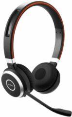 Jabra Evolve 65 UC Telefoonheadset Bluetooth Draadloos On Ear Zwart, Zilver