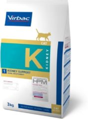 HPM Veterinary VIRBAC HPM FELINE kidney support K1 3KG