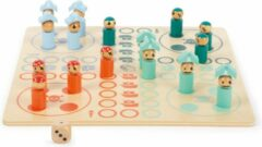 Small Foot Company Small Foot Ludo Bordspel Piraten 20 Cm Hout 18-delig