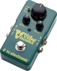 TS Electronic TC Electronic Viscous Vibe reverb/chorus/vibrato/tremolo pedaal