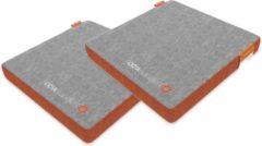 Oranje OctaSupport Seat Cushion - 2 Stuks - Zitkussen
