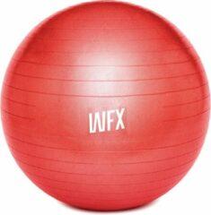 #DoYourFitness Gymnastiek Bal - »Orion« - zitbal en fitness bal ter ondersteuning van lichaamshouding, coördinatie en balans - Maat : 75 cm - rood