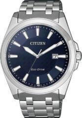 Zilveren Citizen solarhorloge BM7108-81L