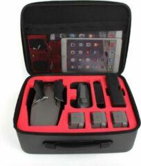Zwarte 50CAL DJI Mavic 2 grote (13 liter) EVA hardcase koffer met schouderriem