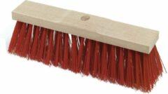 Streuding - Straatbezem - rood 41 cm Art.Nr 80201 zonder steel