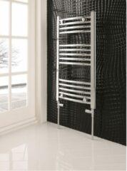 Eastbrook Wendover chroom curved multirail handdoekradiator 600 x 400mm (afgebeeld is de 800 x 600mm)