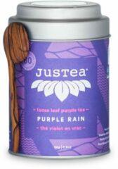 Purple Rain- JUSTEA - 80 gram/80 kop - Paarse thee - Biologische losse thee - Fairtrade !