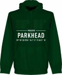 Donkergroene Retake Celtic Parkhead Coördinaten Hoodie - Groen - XL
