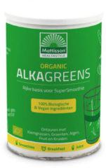 Groene Mattisson Alkagreens poeder organic (300 Vitamine