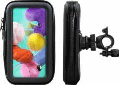Shop4 - Samsung Galaxy A51 Fietshouder Stuur Spatwaterdicht Zwart