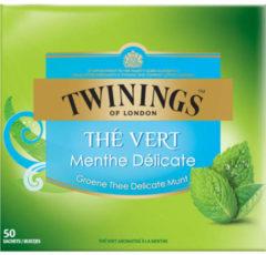 Twinings groen mint 50 Stuks