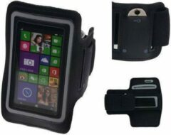 BestCases Nokia Lumia 735 Zwart Sport Armband Neopreen