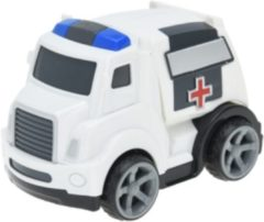 Free and Easy ambulance 11 cm wit