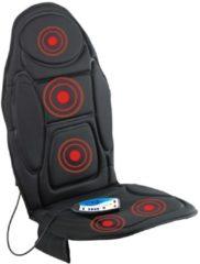 Zwarte VitalMaxx Massage mat met warmte-functie