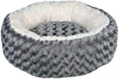 Grijze TRIXIE Hondenmand Kaline 50 cm grijs en crème 38958