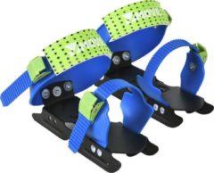 Move Glij-ijzers Junior Verstelbaar Staal Zwart/blauw Mt 24/34