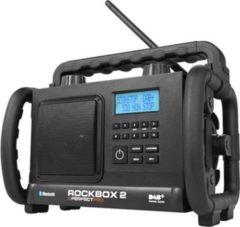 PerfectPro Rockbox 2 Baustellen-/Outdoorradio mit DAB+, AUX, BLUETOOTH, UKW-RDS