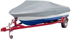 ROOMFUN Copertura della barca copertura Bootspersennng telone grigio