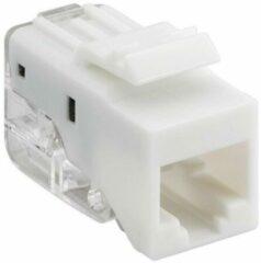 Goobay Keystone Cat5e UTP Toolless network splitter Wit