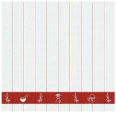 Rode DDDDD Haru - Theedoek - 60x65 cm - Set van 6 - Sienna