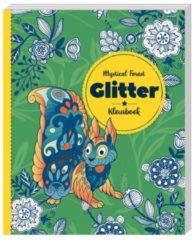 Interstat B.V Kinderboeken Image Books Hobbyproducten - Glitterkleurboek Mystical Forest 6+