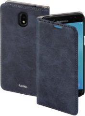 Donkerblauwe Blauwe Guard Booklet Case voor de Samsung Galaxy J3 (2017)