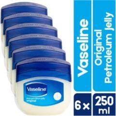 Vaseline Petroleum Jelly | 6 x 250 ML | XXL Voordeelverpakking