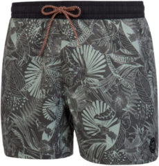 Grijze Protest BONZO Beachshort Heren - Deep Grey - Maat XL