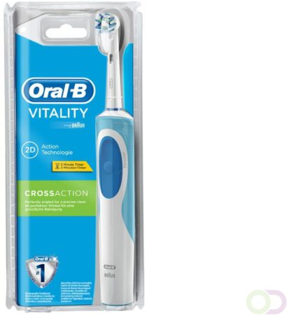 Afbeelding van Oral B Elektrische Tandenborstel Vitality Cross Action 2d Action Voordeelverpakking 6xPer st