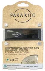 Parakito Armband zwart met 2 tabletten 1 Stuks
