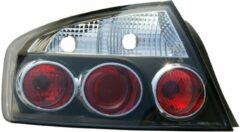 Universeel Set Achterlichten Peugeot 407 Sedan 2004- - Zwart