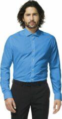 OppoSuits Blue Steel - Mannen Kostuum - Blauw - Feest - Maat 37/38