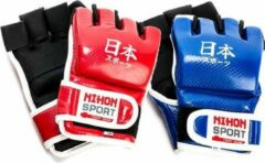 Jiu-jitsu-handschoenen (mitts) Nihon | blauw | maat M